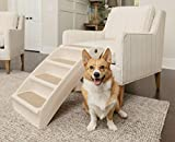 PetSafe Solvit Pupstep Plus Haustiertreppe, 4 Anti-Rutsch Stufen, für Hunde und Katzen