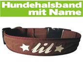 hundehalsband mit namen