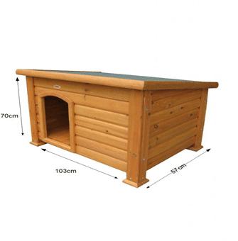 hundehütten größe