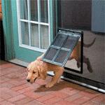 Hundeklappe für Fliegengitter